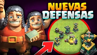 QUÉ LOCURA ES ESTA! Los CONSTRUCTORES AHORA SON DEFENSAS!! | 3º SNEAK PEEK Update de Clash of Clans
