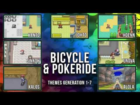 All Pokémon Bicycle & PokéRide Themes [GEN1-7]