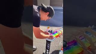 Mario Kart Hotwheels set!!