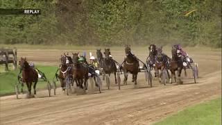 Trabrenntag BedburgHau  16092018  Rennen 4  Ariana Trojborg (Sytske de Vries)