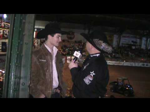 Jason Hetland Caught Up With PBR World Number One Jess Lockwood