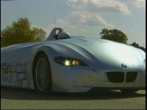 Record Run BMW Hydrogen H2R  Race Car 2004