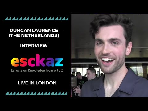 ESCKAZ in London: Interview with Duncan Laurence (The Netherlands at the Eurovision 2019)