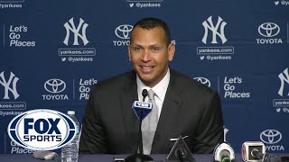 Alex Rodriguez stopped wearing a cup years ago