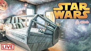 🔴 Staying At The Star Wars Themed Airbnb Near Disney World ☄️ || Full Tour, Secrets & More!