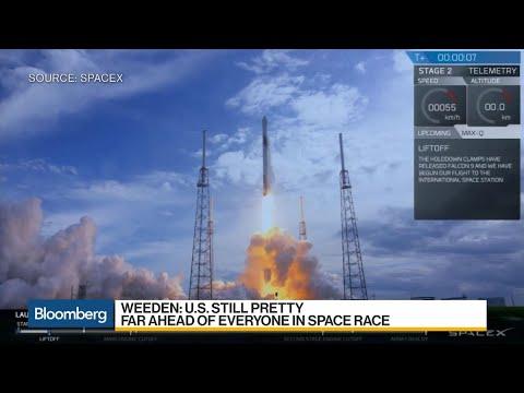 New Global Space Race Pits U.S. vs. China