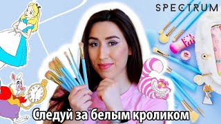 Spectrum Brushes x Disney| Alice in Wonderland| Новые кисти| Annie Z