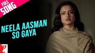 Neela Aasman So Gaya (Female) - Full Song - Silsila