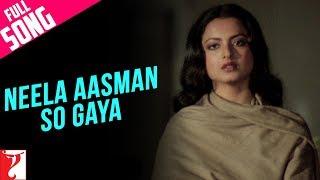 Neela Aasman So Gaya (Female) - Full Song - Silsila
