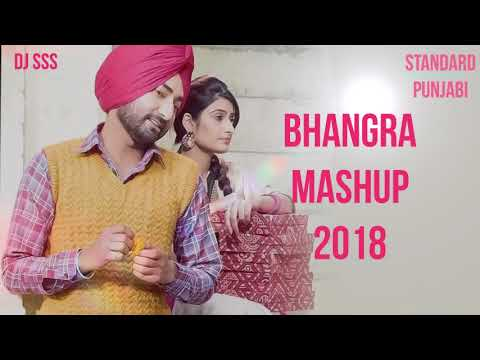 Bass Boosted Bhangra Mashup 2018 - DJ SSS | Punjabi Latest Songs 2018