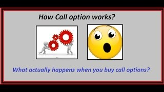 options trading for beginners - What is call options in reality.