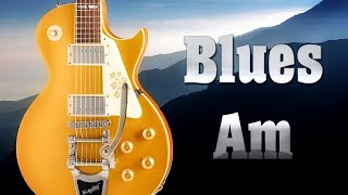 Sexy Blues Rock Guitar Backing Track in A Minor 80 bpm ☮