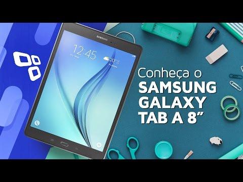 Samsung Galaxy Tab A 8 com S Pen - TecMundo