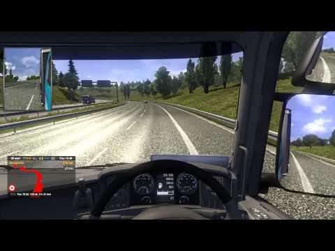 (PC) Euro Truck Sim 2 - Hamburg to Osnabruck - Lighting Fixtures 20 ton