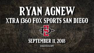 SDSU FOOTBALL: RYAN AGNEW - XTRA 1360 FOX SPORTS SAN DIEGO