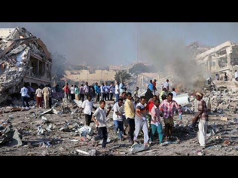 More than 200 die in Somalia car bombings - reports