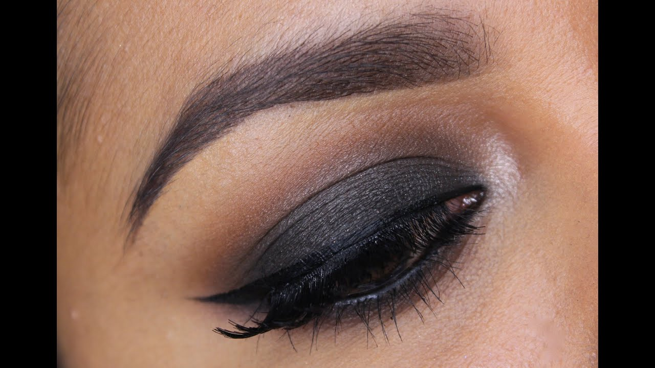 5 minute smokey eye makeup missbeautyadikt youtube. Black Bedroom Furniture Sets. Home Design Ideas