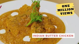 Indian Butter Chicken Recipe by Chef Harpal Butter Chicken (Chicken Makhanwala)