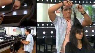 Esquadrão da Moda - Rodrigo Cintra transforma cabelo de participante
