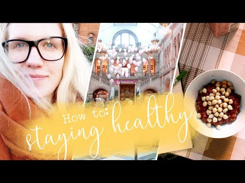 How I Stay Healthy in Uni // Glasgow University Vlog