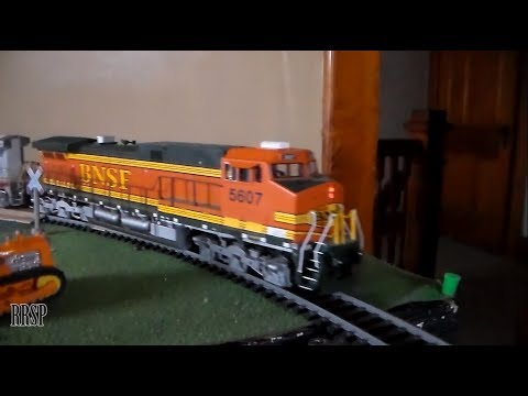 BNSF, UP, & ATSF Trains On The GDC&S