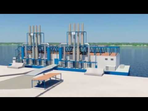 Floating Power Plant | Wärtsilä