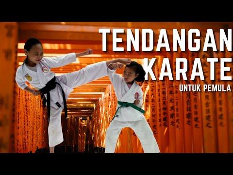 Cara Melatih Tendangan Karate
