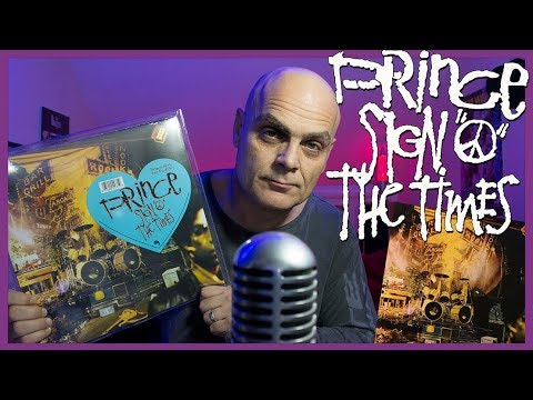 "Prince ""Sign O The Times"" Vinyl First Play"