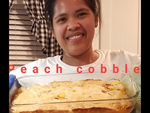 Peach cobbler recipe with fresh peaches