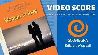 WOMAN IN LOVE - Barry Gibb & Robin Gibb,  arr.  Donald Furlano