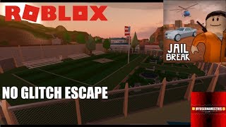 Roblox: JailBreak: Escaping WITHOUT GLITCHES (ULTIMATE TEST OF SKILL)