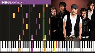 How to play One Republic Stop and stare   Piano tutotial  100% speed