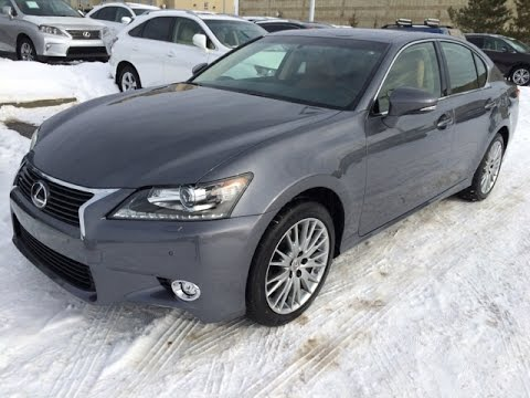 2015 lexus gs 350 awd grey on flaxen luxury package review executive demo edmonton youtube. Black Bedroom Furniture Sets. Home Design Ideas