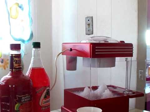 how to use a snow cone machine
