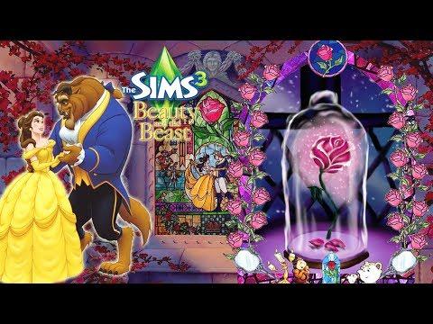 The Sims 3 Beauty and the Beast #6 ดอกกุหลาบสีแดง