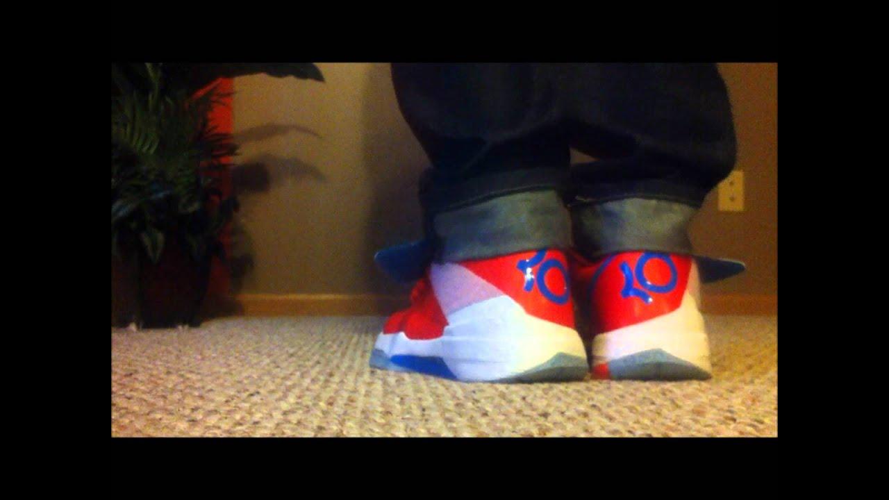 "Nike KD 4 On Feet ""Creamsicle"" - YouTubeKd 4 On Feet"