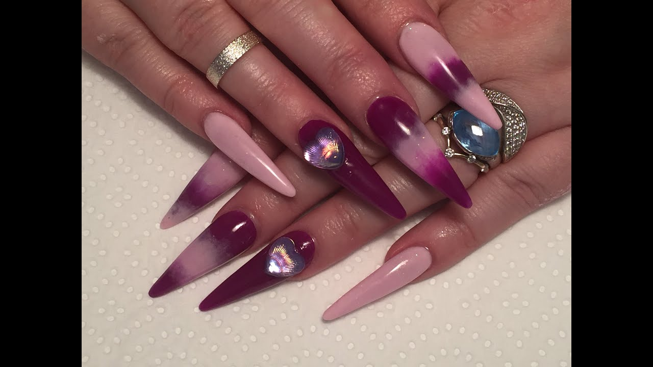 Long Pointed Acrylic Nails | Best Nail Designs 2018