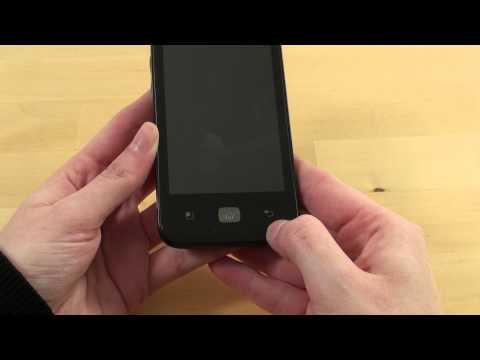 LG Optimus Hub Test Erster Eindruck