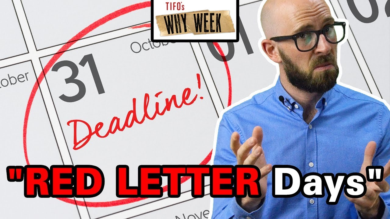 why-week-why-are-special-days-called-red-letter-days