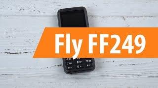 Распаковка сотового телефона Fly FF249/ Unboxing Fly FF249
