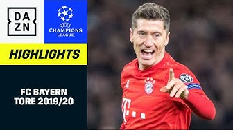 FC Bayern München: Alle-UCL-Tore 2019/20 | UEFA Champions League | DAZN Highlights