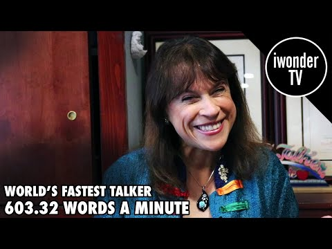 The Fastest Talker In The World
