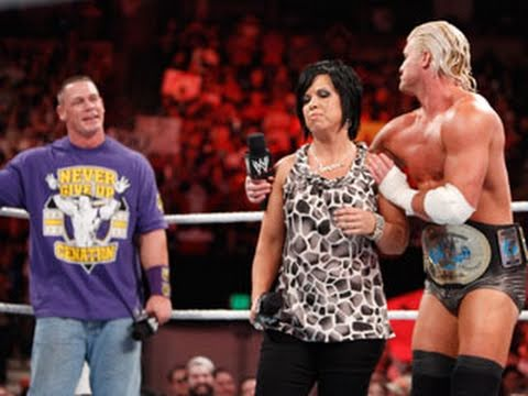 Raw: John Cena confronts Dolph Ziggler & Vickie Guerrero