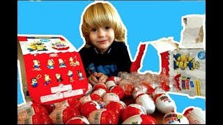 Gertit Toys Review Unboxing Minions Kinder Surprise Eggs And The Iron Man Mask Unboxing Toys