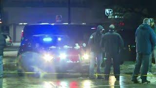 Massive police presence on Detroit's west side