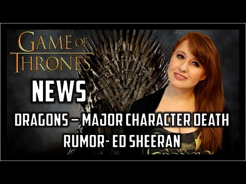 Game of Thrones News: Dragon Talk, Major Character Death?, Cameos