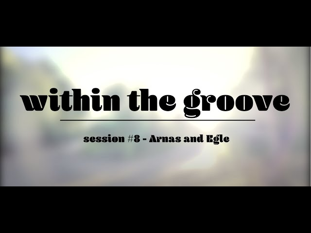 within the groove #8 - arnas egle
