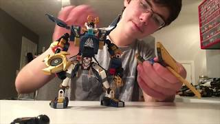 Lego Killow vs. Samurai X: Adjustments