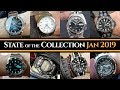 State of the Collection [January 2019] Seiko, Casio, Orient (+ FUTURE Grail Watch)