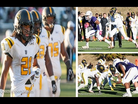 St Frances Academy vs Mt St Joseph High School Football 2016
